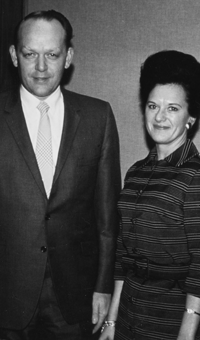 A-dec founders Ken and Joan Austin in 1966