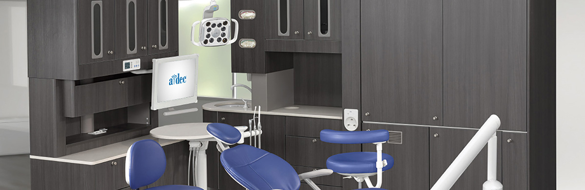 A-dec Preference Collection Dental Cabinets