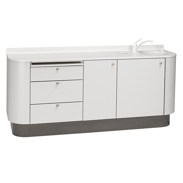 Preference dental cabinet accessory console