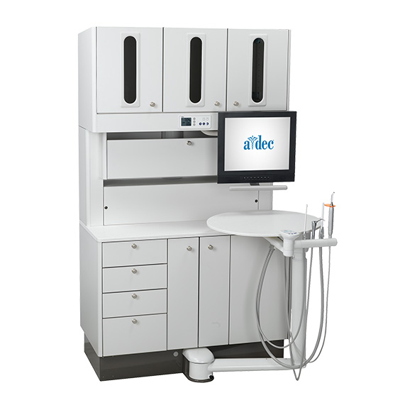 Preference dental cabinet treatment console