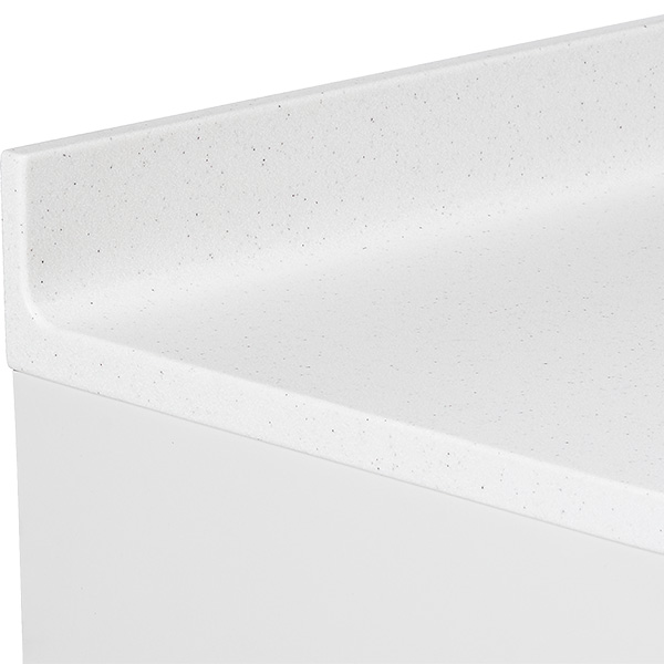Preference dental cabinet countertop without seams