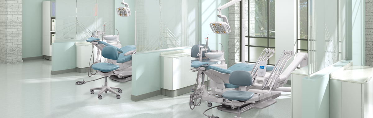 A-dec dental operatory gallery