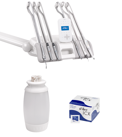 Dental delivery system and waterline maintenance