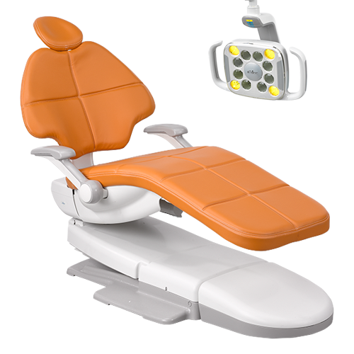 Dental chair and dental light