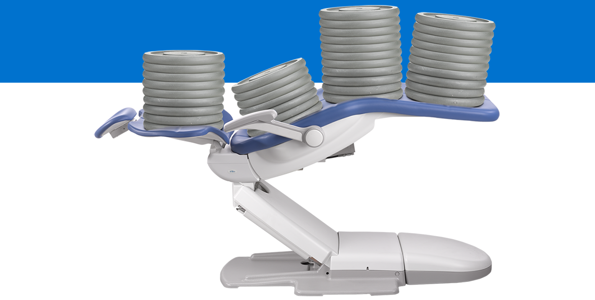 A-dec dental chair tested for reliability